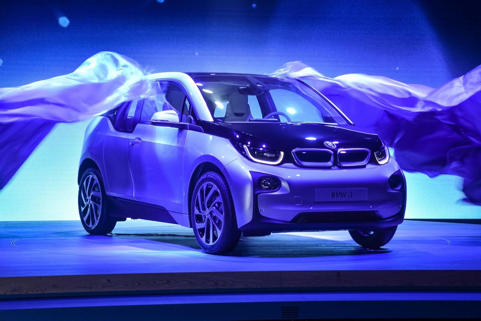 BMW i3 ra mắt ở Á – Âu – Mỹ