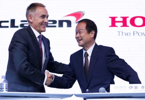 McLaren và Honda bắt tay sản xuất