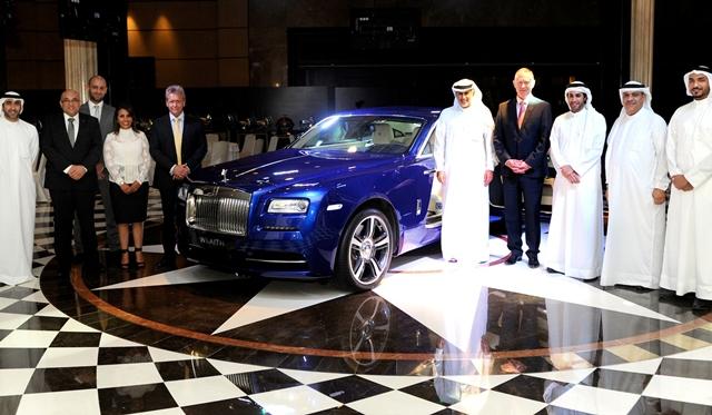Rolls-Royce Wraith ra mắt ở Bahrain