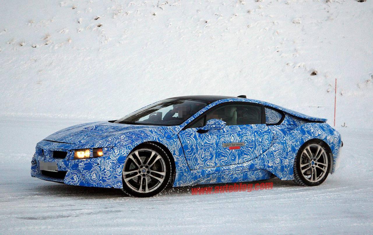 BMW i8 sẽ ra mắt ở Frankfurt Motor Show