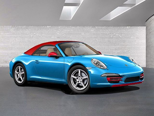 Liệu sẽ xuất hiện phiên bản đặc biệt Porsche 911 Blu Edition?