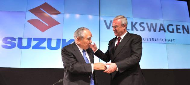 Suzuki phủ nhận việc đàm phán với Volkswagen