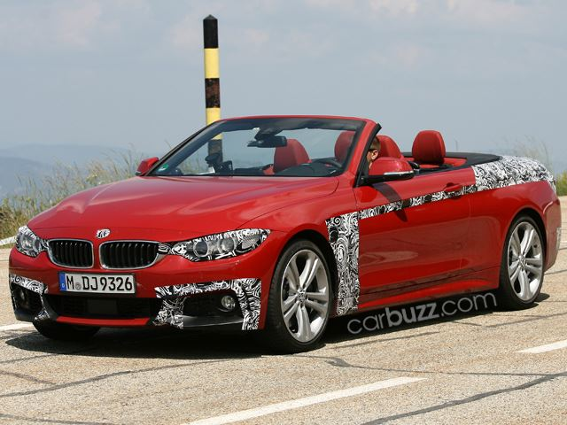 BMW 4 Series mui trần xuất hiện trên đường thử