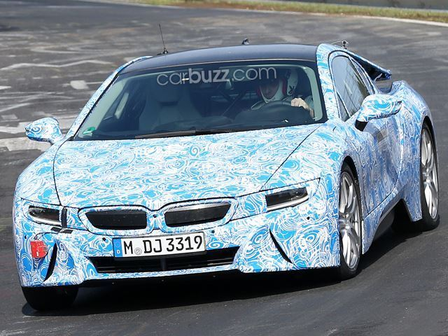BMW tiết lộ động cơ khủng của i8