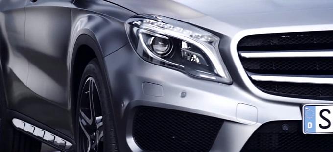 Mercedes-Benz ra mắt video giới thiệu mẫu GLA 2014