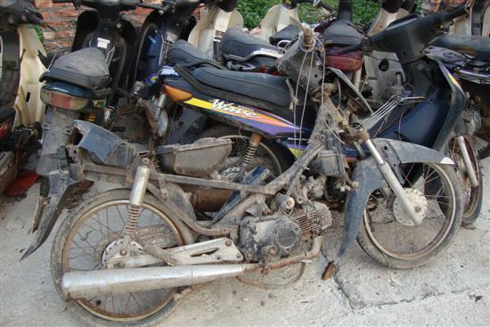 Xử lý ô tô, xe máy cũ vào năm 2018