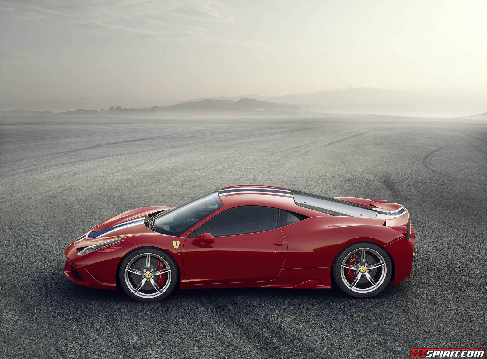 Hình ảnh mới nhất của Ferrari 458 Speciale