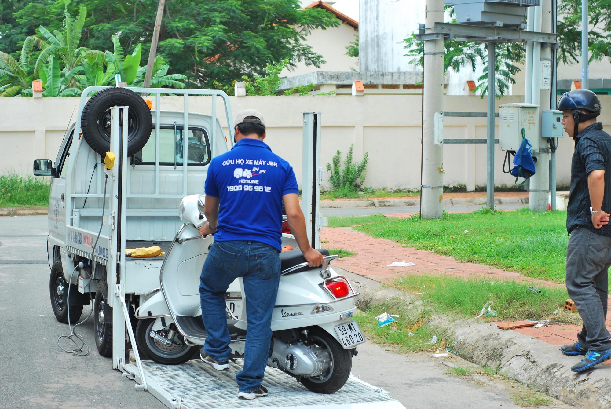 JBR cung cấp dịch vụ cứu hộ xe máy 24/24