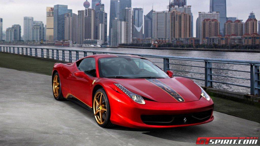 Mua Ferrari ở Trung Quốc có giá đắt gấp 3 lần