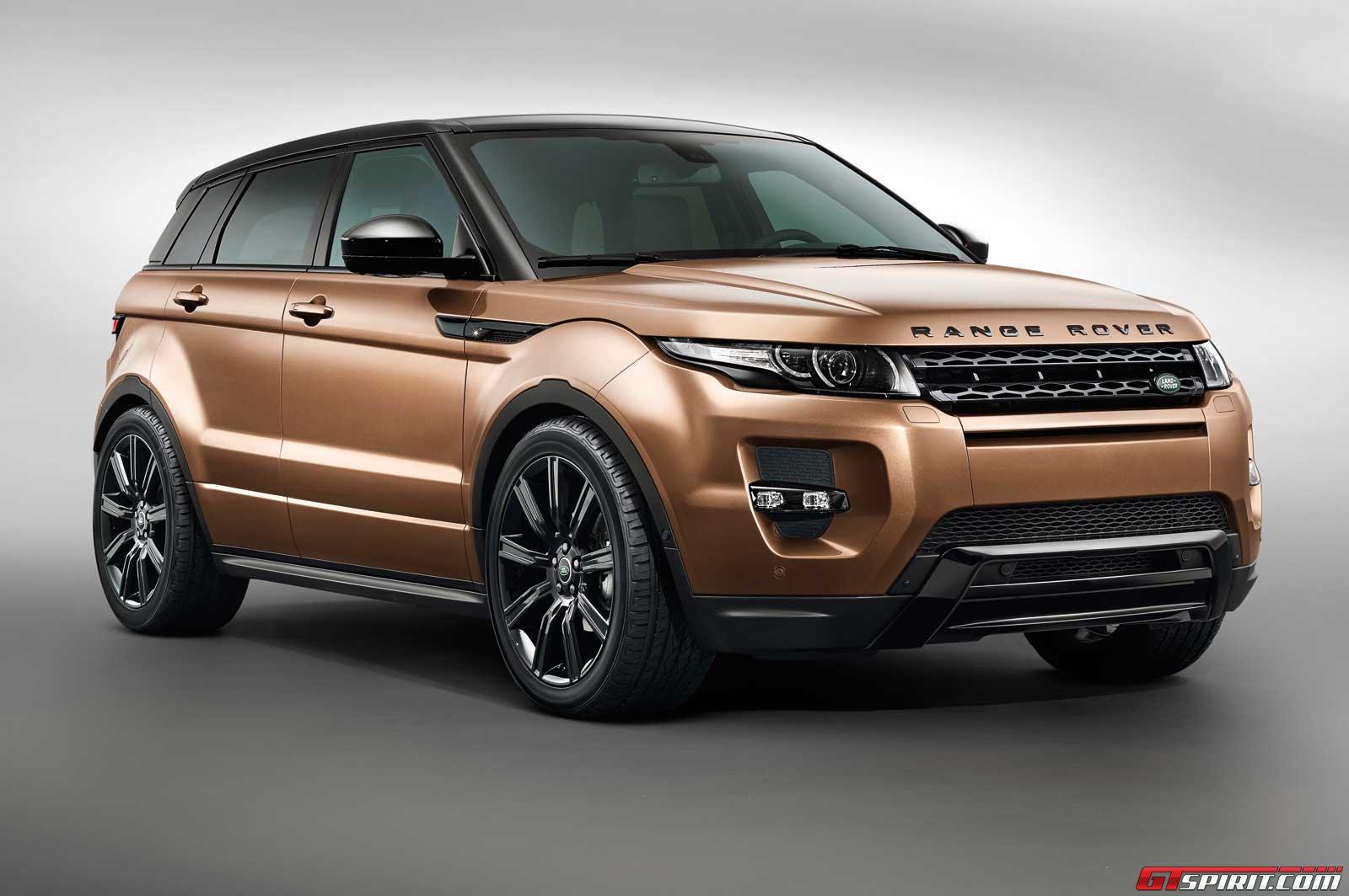 Range Rover Evoque 2014 tiết lộ hình ảnh