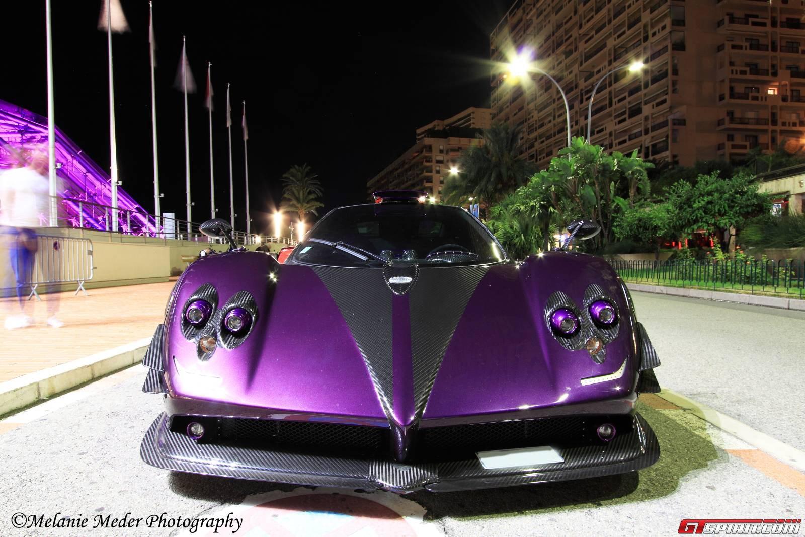 Pagani Zonda 760 LH tím xuất hiện tại Monaco