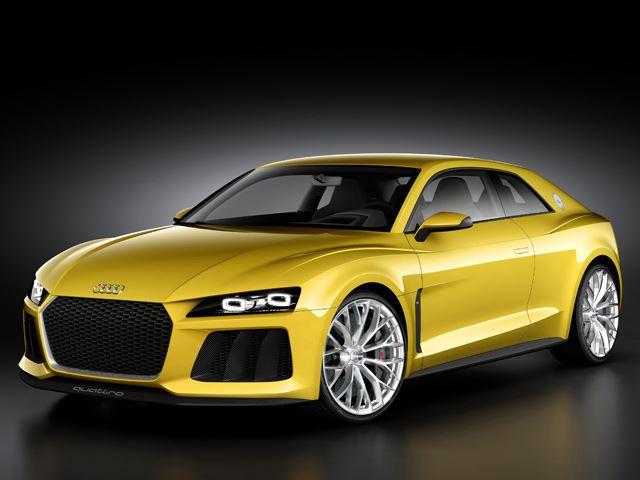 Audi tiết lộ mẫu Sport Quattro Concept mới