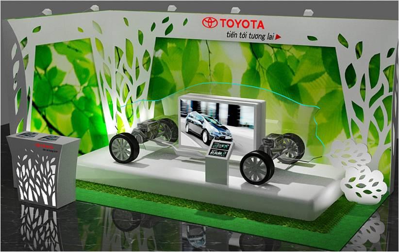 Toyota cắt đôi xe Prius để tham dự triển lãm