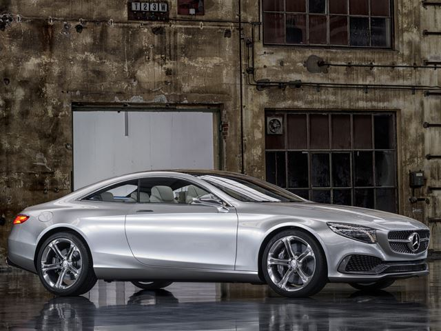 Mercedes ra mắt S Class Coupe Concept
