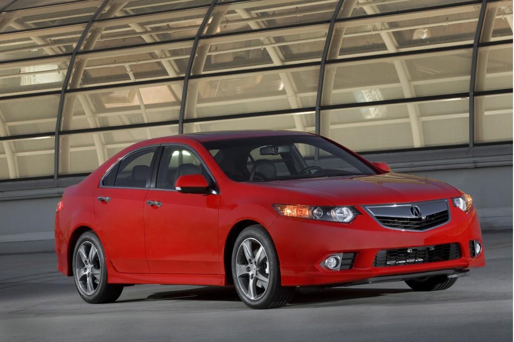 Acura báo giá TSX 2014