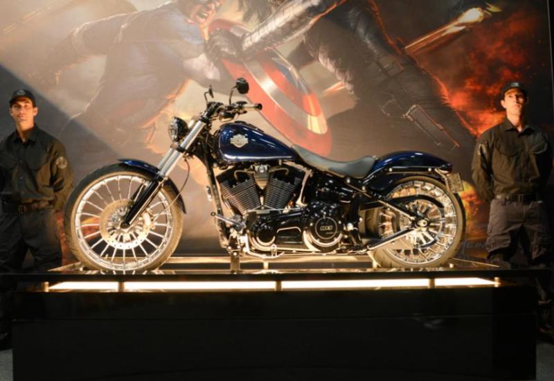 Captain America sẽ dùng xe Harley-Davidson trong bộ phim mới