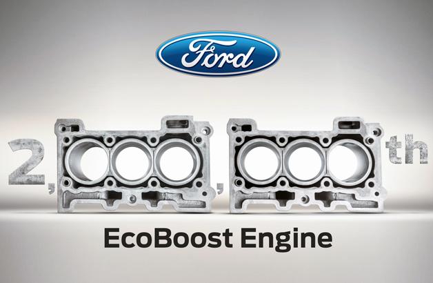 Ford đạt cột mốc 2 triệu động cơ EcoBoost