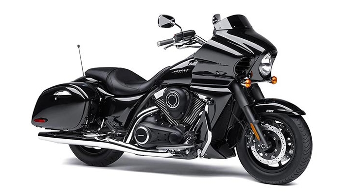 Kawasaki Vulcan 1700 Vaquero 2014 – sắc đen bi ẩn