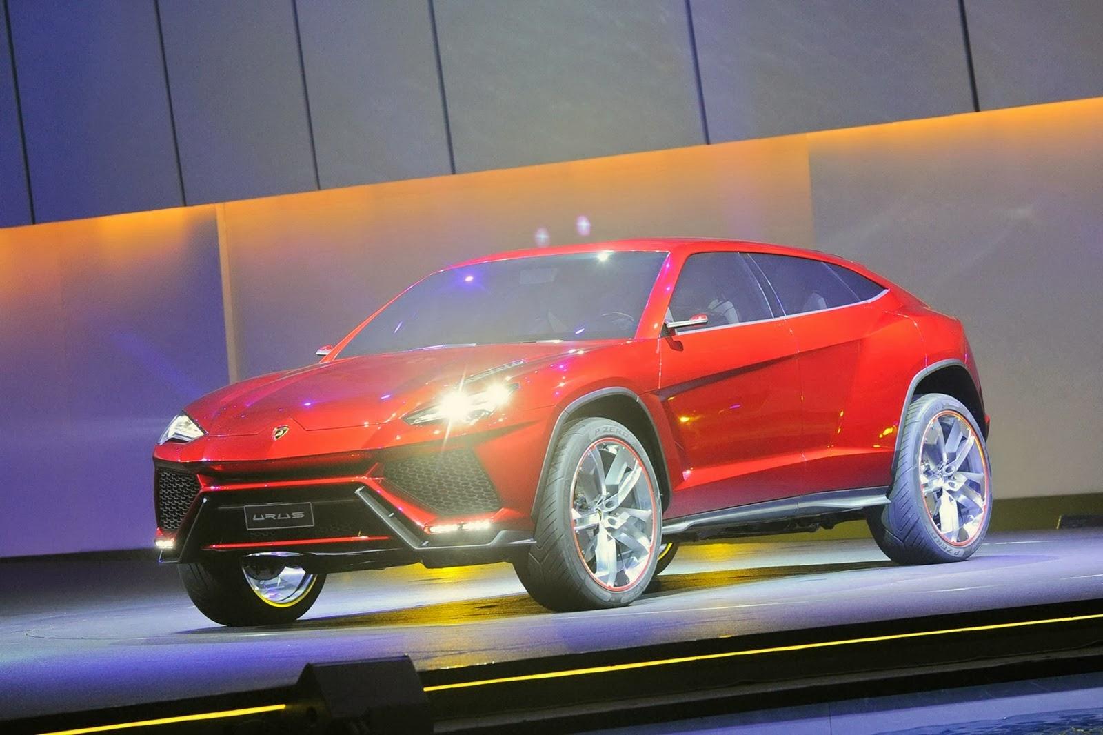 Chiếc SUV của Lamborghini sẽ đi vào sản xuất