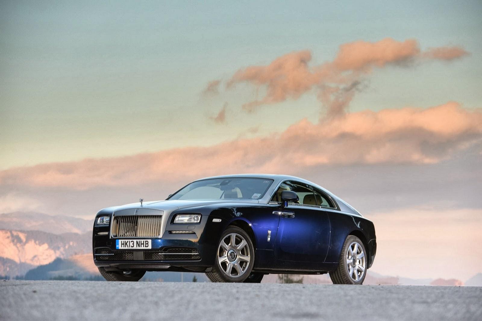 Rolls-Royce tung hình ảnh của Wraith coupe làm nao lòng người hâm mộ