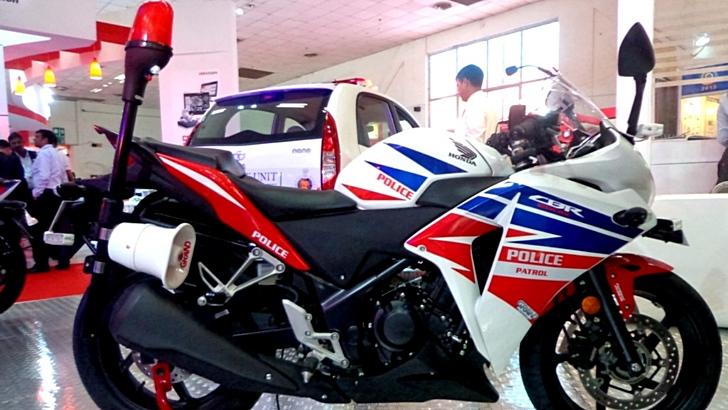 Honda CBR250R phiên bản dành cho cảnh sát
