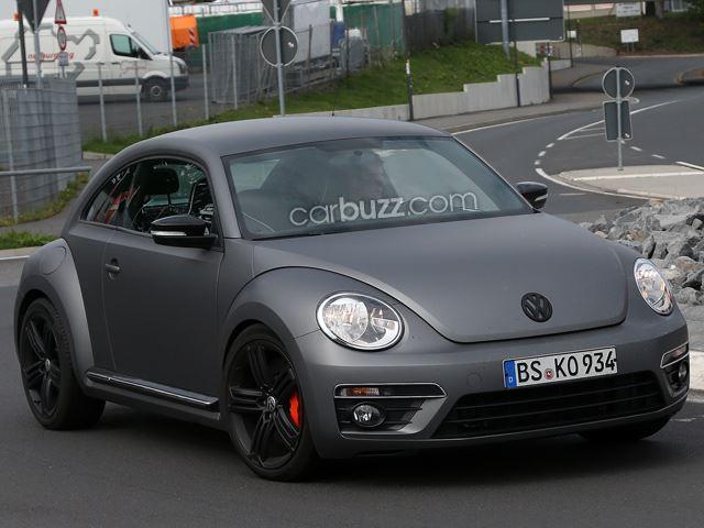 Volkswagen Beetle R lộ diện với thiết kế vay mượn Golf R