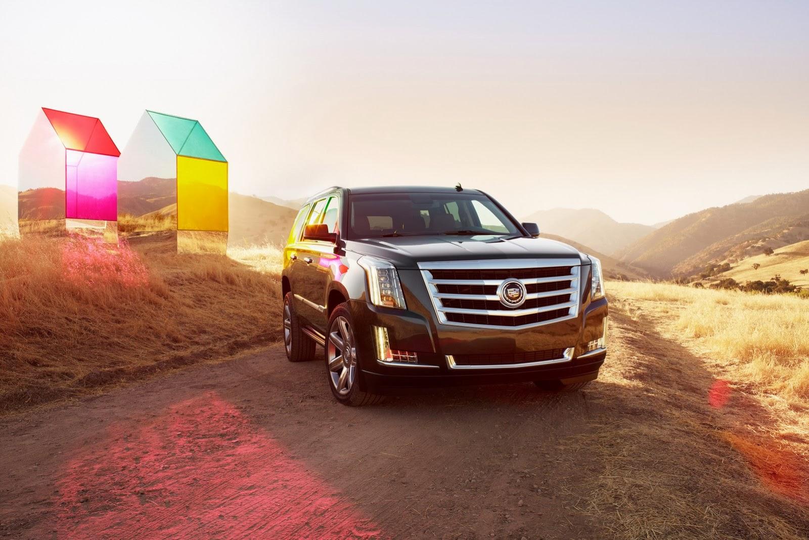 Cadillac Escalade 2015: đẹp nhưng chưa đổi mới