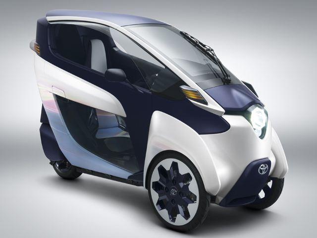 Toyota sắp sản xuất xe chạy điện 3 bánh