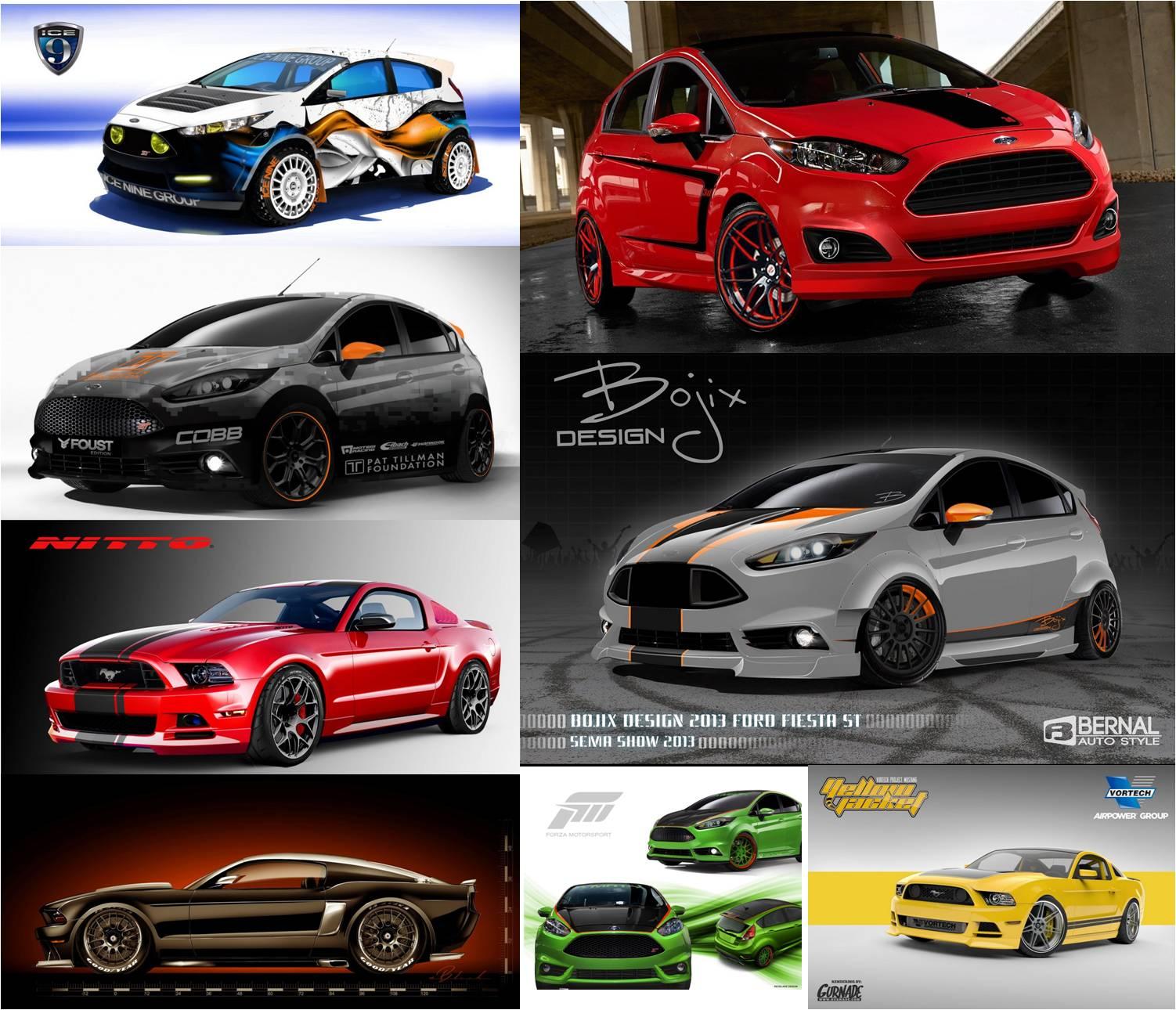 """Ford """"khủng bố"""" SEMA 2013 bằng 57 mẫu xe độ"""