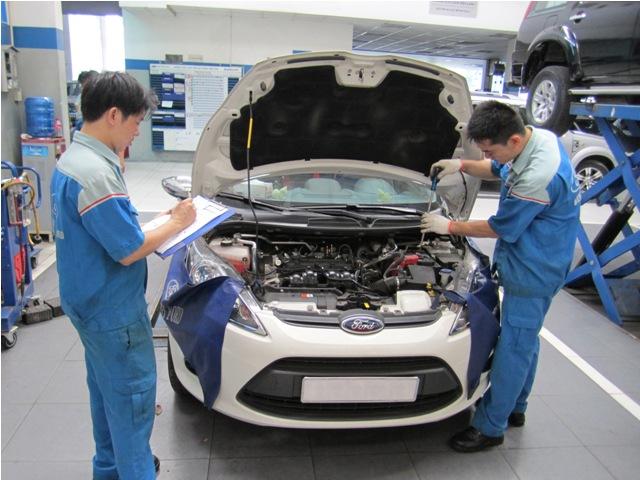 Ford Việt Nam chuẩn hoá dịch vụ sửa chữa