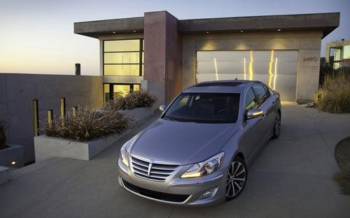 Hyundai triệu hồi 27.500 chiếc Genesis