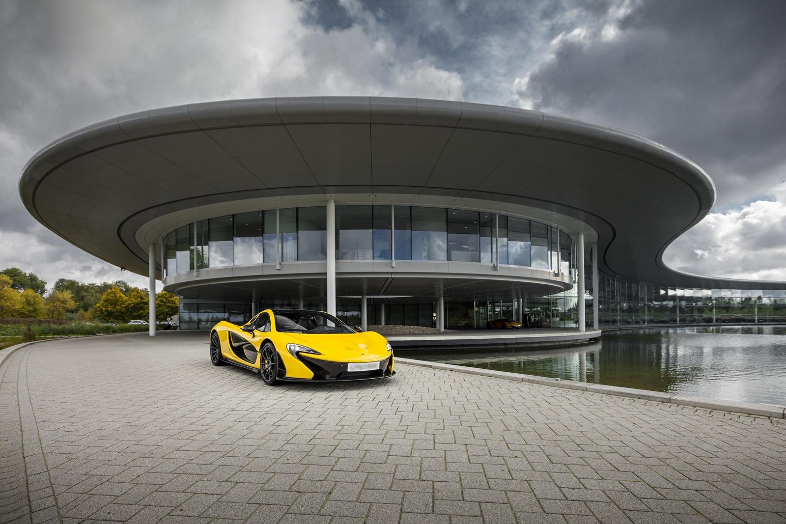 McLaren P1 tiết lộ thông số kỹ thuật