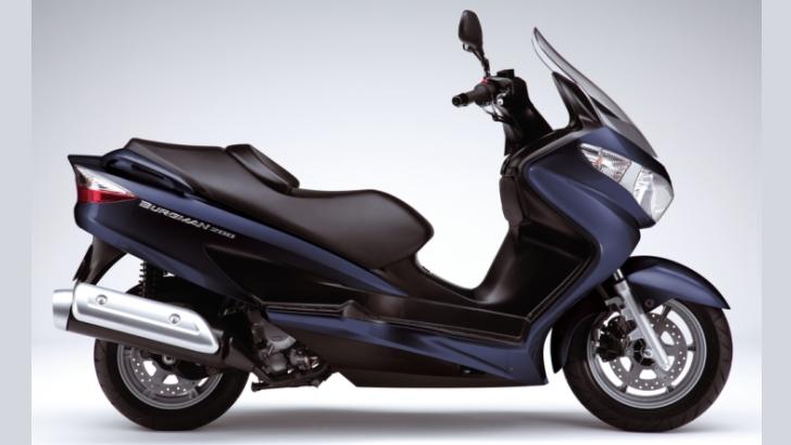 Suzuki Burgman 200 ra mắt ở Bắc Mỹ