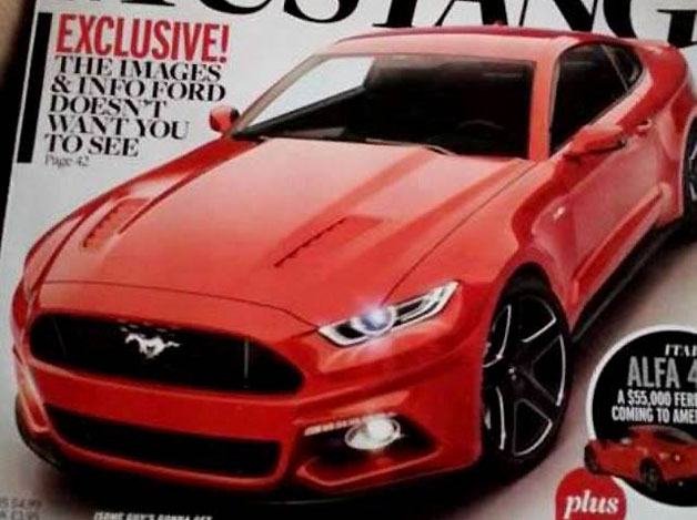 Ford Mustang 2015 lộ diện