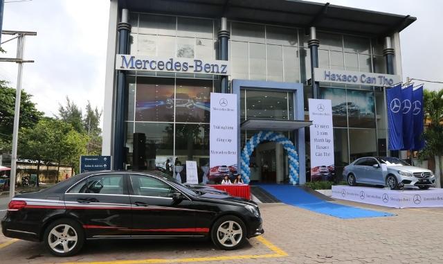 Trải nghiệm Mercedes-Benz trên đất Tây Đô