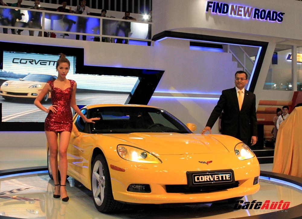 VMS 2013: Chevrolet Corvette gây sốt tại triển lãm