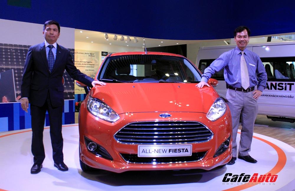 """VMS 2013: Ford ra mắt """"át chủ bài"""" Fiesta hoàn toàn mới"""