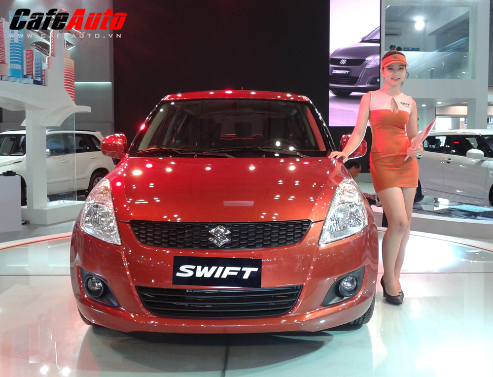 VMS 2013: Swift độc chiếm gian hàng Suzuki