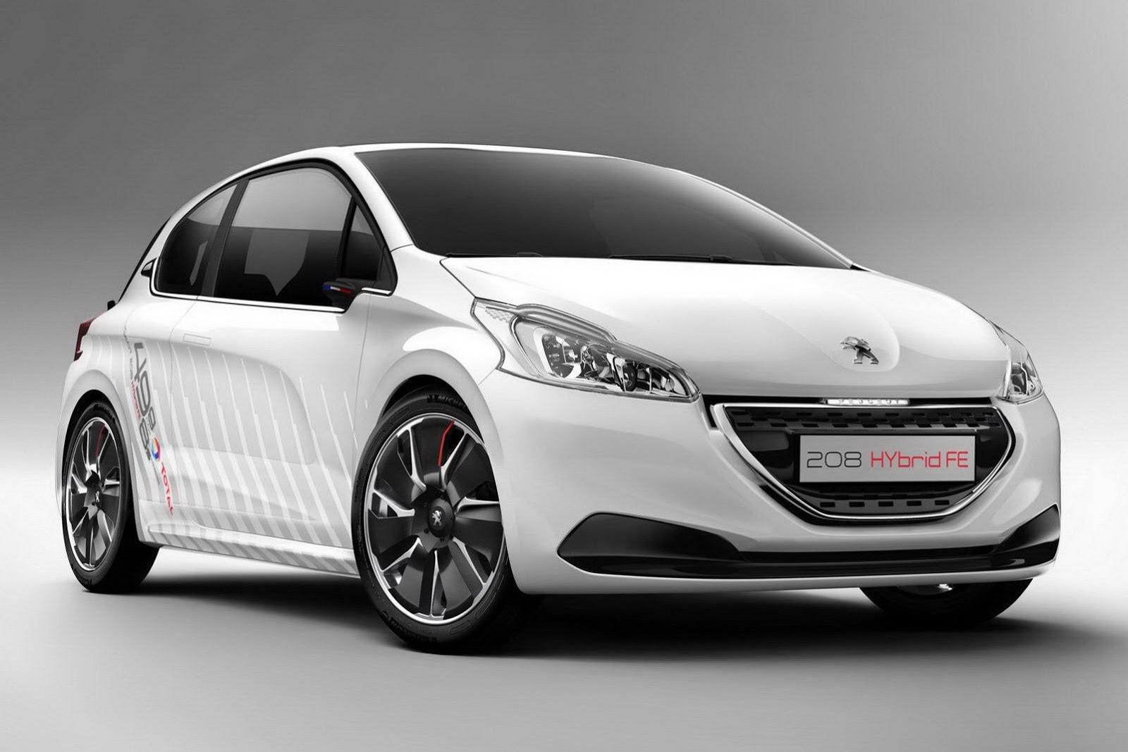 Peugeot phát triển công nghệ Hybrid mới