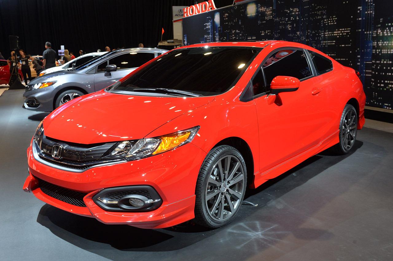 SEMA 2013: Bộ đôi Honda Civic 2014 ra mắt tại SEMA