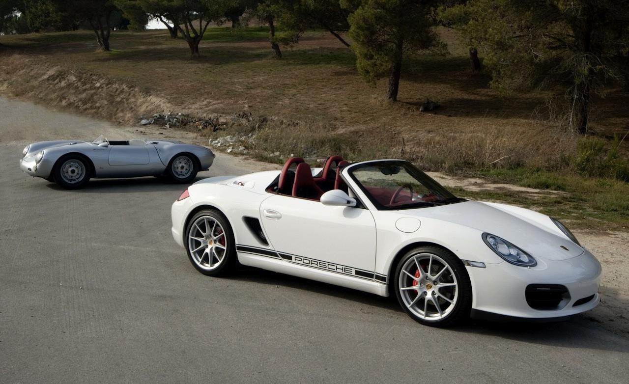 """911 Speedster  """"người"""" kế thừa Porsche 550 Spyder"""