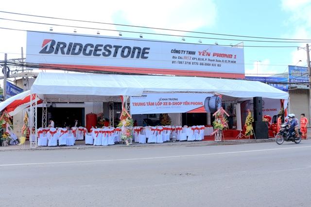 Bridgestone khánh thành B-Shop đầu tiên ở HCM