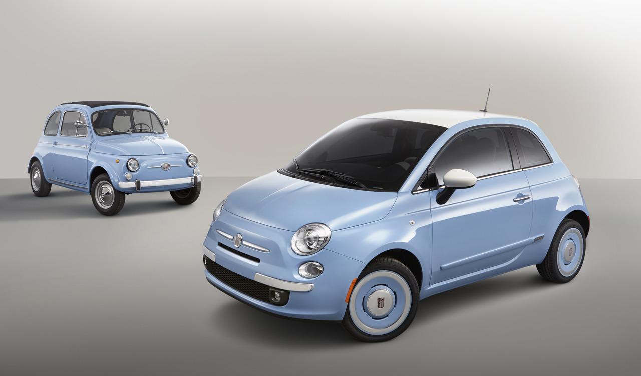 """Fiat 500 """"1957 Edition"""" gợi nhớ về thời xưa cũ"""