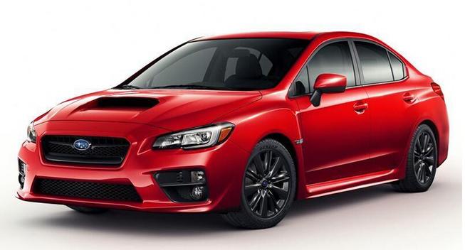 Subaru WRX 2015 bị rò rỉ hình ảnh