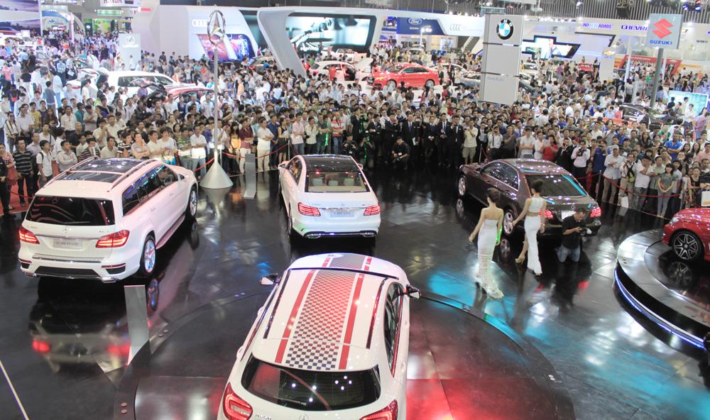 Tháng 10, ngành ô tô tăng trưởng cao nhất từ đầu năm