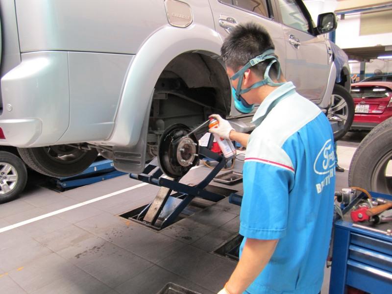 Ford Việt Nam đẩy mạnh dịch vụ bảo dưỡng