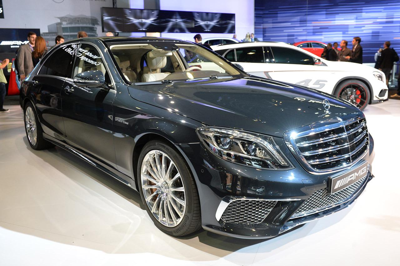 LA Auto show 2013: Mercedes-Benz S65 AMG - mạnh mẽ và sang trọng