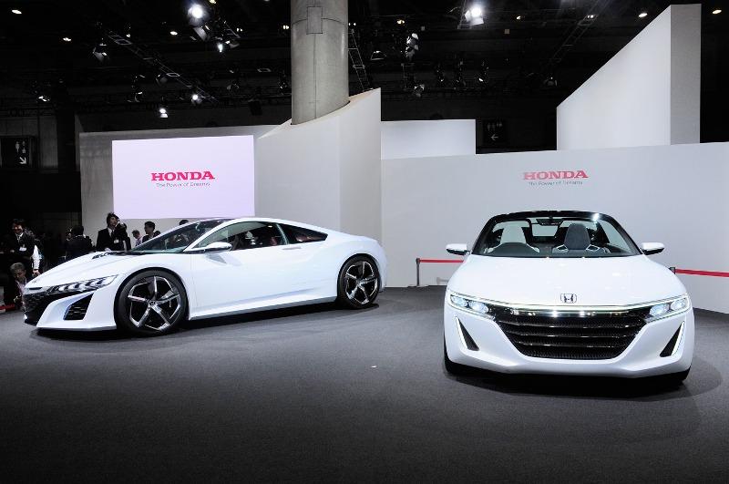 Tokyo Motor Show 2013: Honda trưng bày gian hàng đa dạng
