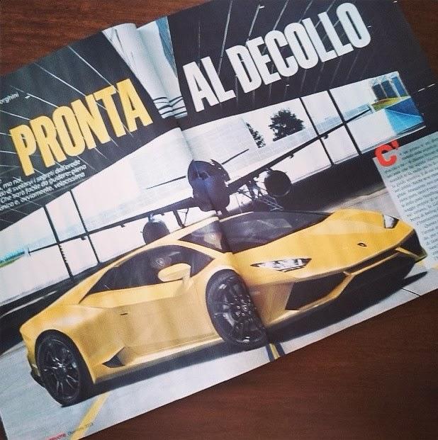 """Lamborghini Cabrera lộ """"ảnh nóng"""" trên tạp chí"""