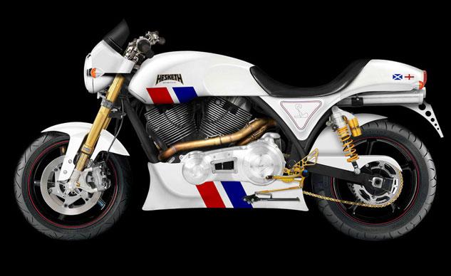 Hesketh 24 – motor lấy cảm hứng từ xe đua